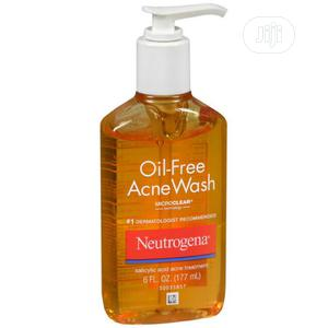 Neutrogena Oil Free Acne Liquid Facial Cleanser, Oily, 6 Fl | Skin Care for sale in Lagos State, Amuwo-Odofin