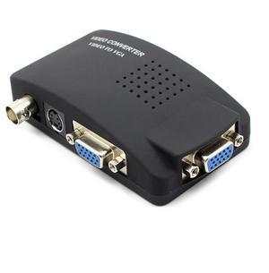 BNC to VGA Video Converter Black - Jy15   Accessories & Supplies for Electronics for sale in Lagos State, Alimosho