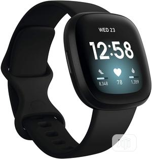 Fitbit Versa 3 Health & Fitness Smartwatch   Smart Watches & Trackers for sale in Lagos State, Shomolu