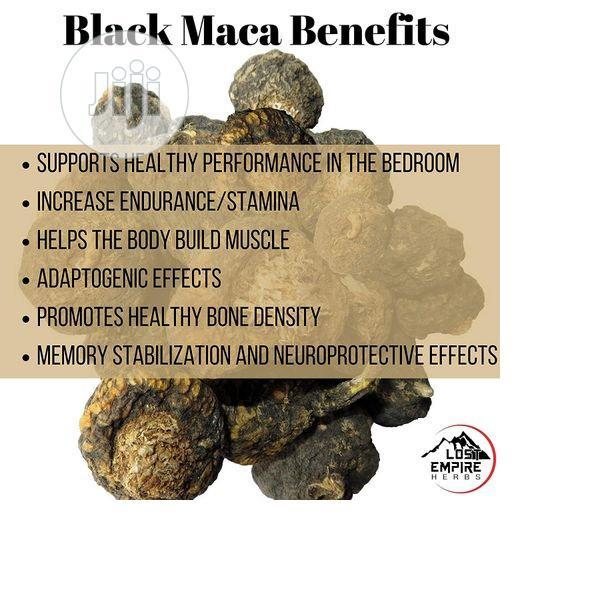 Lost Empire Herbs Raw Black Maca Powder - Organic 8.8OZ / 25 | Vitamins & Supplements for sale in Amuwo-Odofin, Lagos State, Nigeria