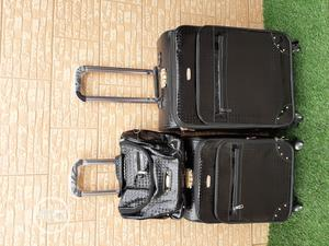 Shining Black Trolley Luggage Bags (3 Sets) | Bags for sale in Lagos State, Ikeja