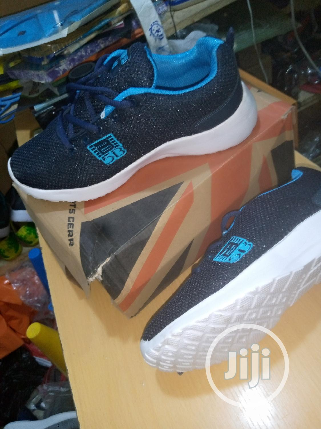 New Navy Blue Jogging Canvas   Shoes for sale in Lekki, Lagos State, Nigeria