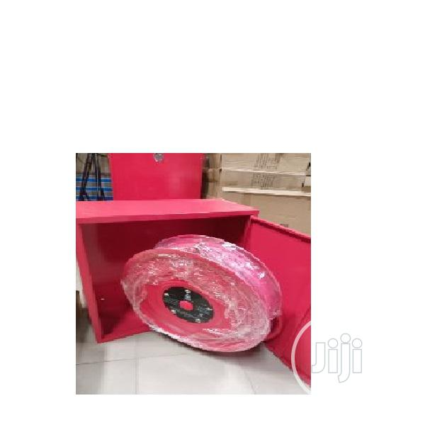 Fire Hose Reel and Cabinet