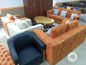 Orange Sofa Chair   Furniture for sale in Lagos State, Lekki