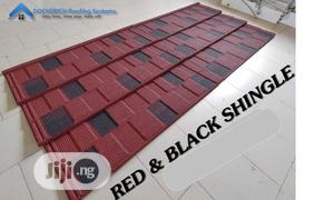 Red And Black Shingle Shingle Docherich Stone Coated Roofing   Building Materials for sale in Lagos State, Ajah