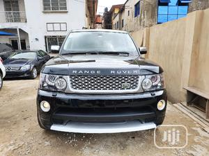 Land Rover Range Rover Sport 2008 4.2 V8 SC Black   Cars for sale in Lagos State, Ikeja