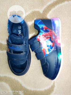 Blue Spiderman Sneakers | Children's Shoes for sale in Lagos State, Lagos Island (Eko)