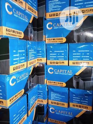 Capital Battery . 200ah Deep Cycle Battery 12V   Solar Energy for sale in Edo State, Benin City