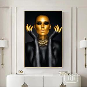 Black Gold Woman Decoration Paintings Wall Art | Arts & Crafts for sale in Lagos State, Ajah