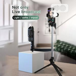 4in1 Wireless Bluetooth Selfie Stick LED Ring Light Extendab | Accessories for Mobile Phones & Tablets for sale in Lagos State, Alimosho