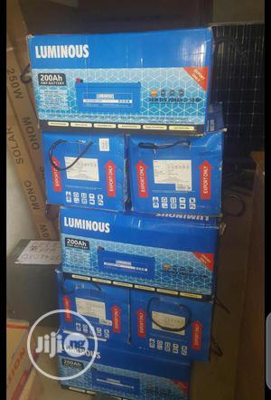 12volt 200ah Luminous Solar Inverter Battery   Solar Energy for sale in Lagos State, Ojo