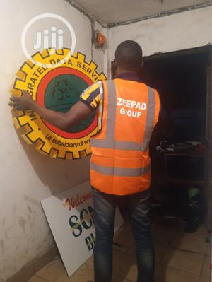 NNPC Signage Letters Lighted Led Sign Frontlit 3D | Manufacturing Services for sale in Abuja (FCT) State, Central Business District
