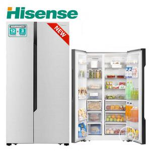 Brand New Hisense Side by Side Fridge (Ref68ws)516L,External   Kitchen Appliances for sale in Lagos State, Ojo