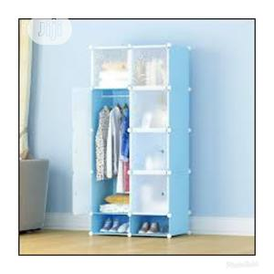 Wardrobe Cabinet Blue | Furniture for sale in Lagos State, Surulere