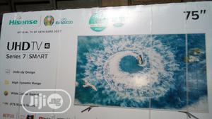 Hisense 75 Inches Smart TV 4K UHD | TV & DVD Equipment for sale in Lagos State, Ojo