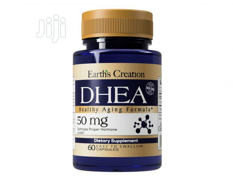 Earth Creation DHEA 50mg