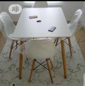 Very Unique Set of Dinning/Restaurant Table With 4 Chairs | Furniture for sale in Lagos State, Ojo