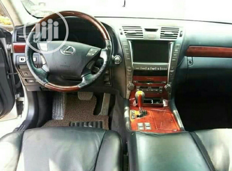 Lexus LS 2008 460 Silver   Cars for sale in Amuwo-Odofin, Lagos State, Nigeria