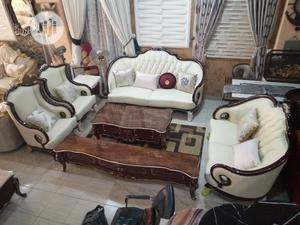 Royal Sofa Chair With Center Table | Furniture for sale in Benue State, Otukpo