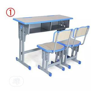 Double Seater School Tables And Chairs   Children's Furniture for sale in Abuja (FCT) State, Wuse