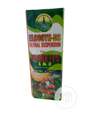 DIABETES 1 2 Suspension by Elcocyn-Ds Herbal | Vitamins & Supplements for sale in Abuja (FCT) State, Kubwa