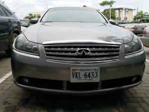Infiniti M 2007 35 Sedan Gray   Cars for sale in Lagos State, Isolo