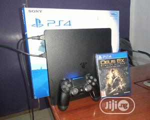 PS4 Slim + Cd + Pad | Video Game Consoles for sale in Edo State, Benin City
