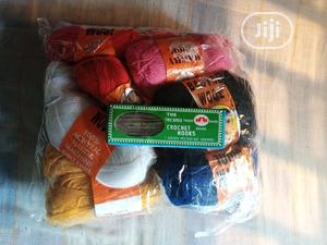 15 Knitting And Crochet Yarn And 12 Crochet Hooks | Home Accessories for sale in Lagos State, Surulere