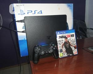 PS4 Slim With Complete Accessories | Video Game Consoles for sale in Edo State, Benin City