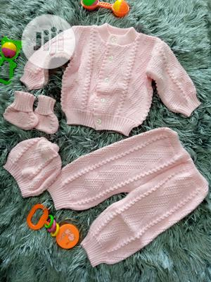 Unisex Complete Set Cardigan | Children's Clothing for sale in Lagos State, Amuwo-Odofin
