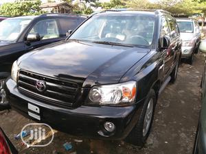 Toyota Highlander 2005 V6 Black | Cars for sale in Lagos State, Apapa