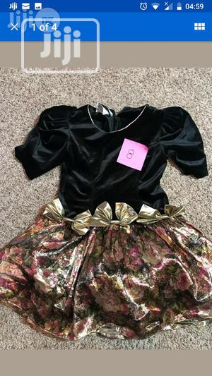 Preloved Black and Gold American Dress in Good Condition | Children's Clothing for sale in Abuja (FCT) State, Wuse 2