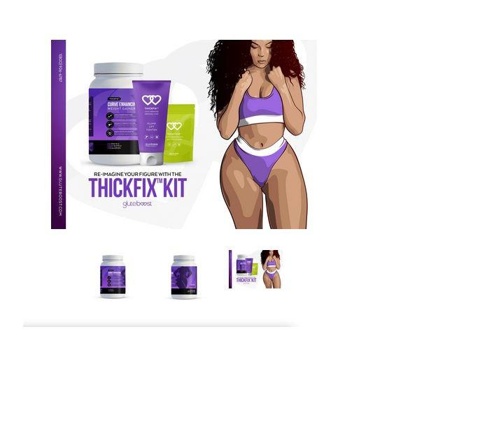 Gluteboost Curve Enhancing Weight Gainer Shake 28 DAYS | Vitamins & Supplements for sale in Amuwo-Odofin, Lagos State, Nigeria