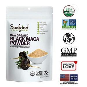 Black Maca Powder Raw, Organic. 4 Oz/113g | Vitamins & Supplements for sale in Lagos State, Amuwo-Odofin