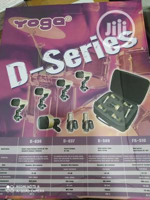 Yoga 7set Drum Microphone | Audio & Music Equipment for sale in Lagos State, Ikeja