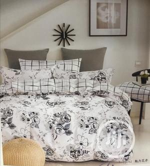 American 100% Cotton Duvet,Bedsheet With 4 Pillowcases | Home Accessories for sale in Lagos State, Ikeja