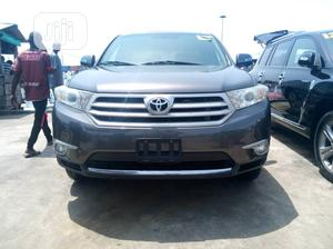Toyota Highlander 2013 Limited 3.5l 4WD Gray | Cars for sale in Lagos State, Apapa