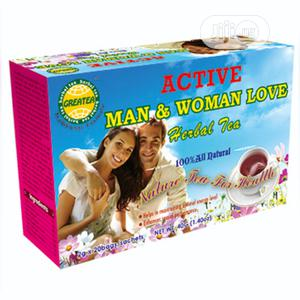 Great Man & Woman Love Hebal Tea: 2g X 20teabags X 1 Box | Vitamins & Supplements for sale in Lagos State, Ojo