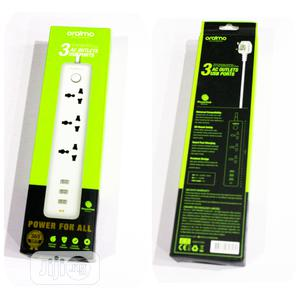 Oraimo 3 AC Outlets USB Port Extension   Accessories & Supplies for Electronics for sale in Lagos State, Lekki
