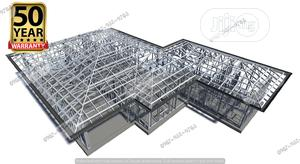 Lightweight Steel Truss Galvanized Roof Framework | Building & Trades Services for sale in Lagos State, Ajah