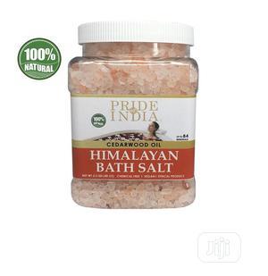 Pride Of India Himalayan Pink Bathing Salt W/Cedarwood Oil 2 | Bath & Body for sale in Lagos State, Amuwo-Odofin