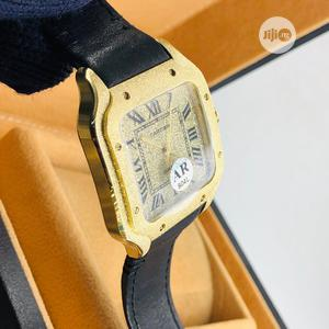 Authentic Cartier Leather Wrist Watch   Watches for sale in Lagos State, Lagos Island (Eko)