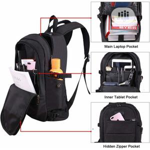 Anti Theft Waterproof Laptop Backpack With Usb Charging Port   Bags for sale in Lagos State, Ipaja