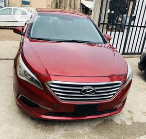 Hyundai Sonata 2016 Red | Cars for sale in Lagos State, Ogba