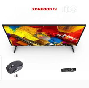 """Zonegod 32""""Inches Smart HD Andoid TV Black + Free Mouse   TV & DVD Equipment for sale in Abuja (FCT) State, Lugbe District"""