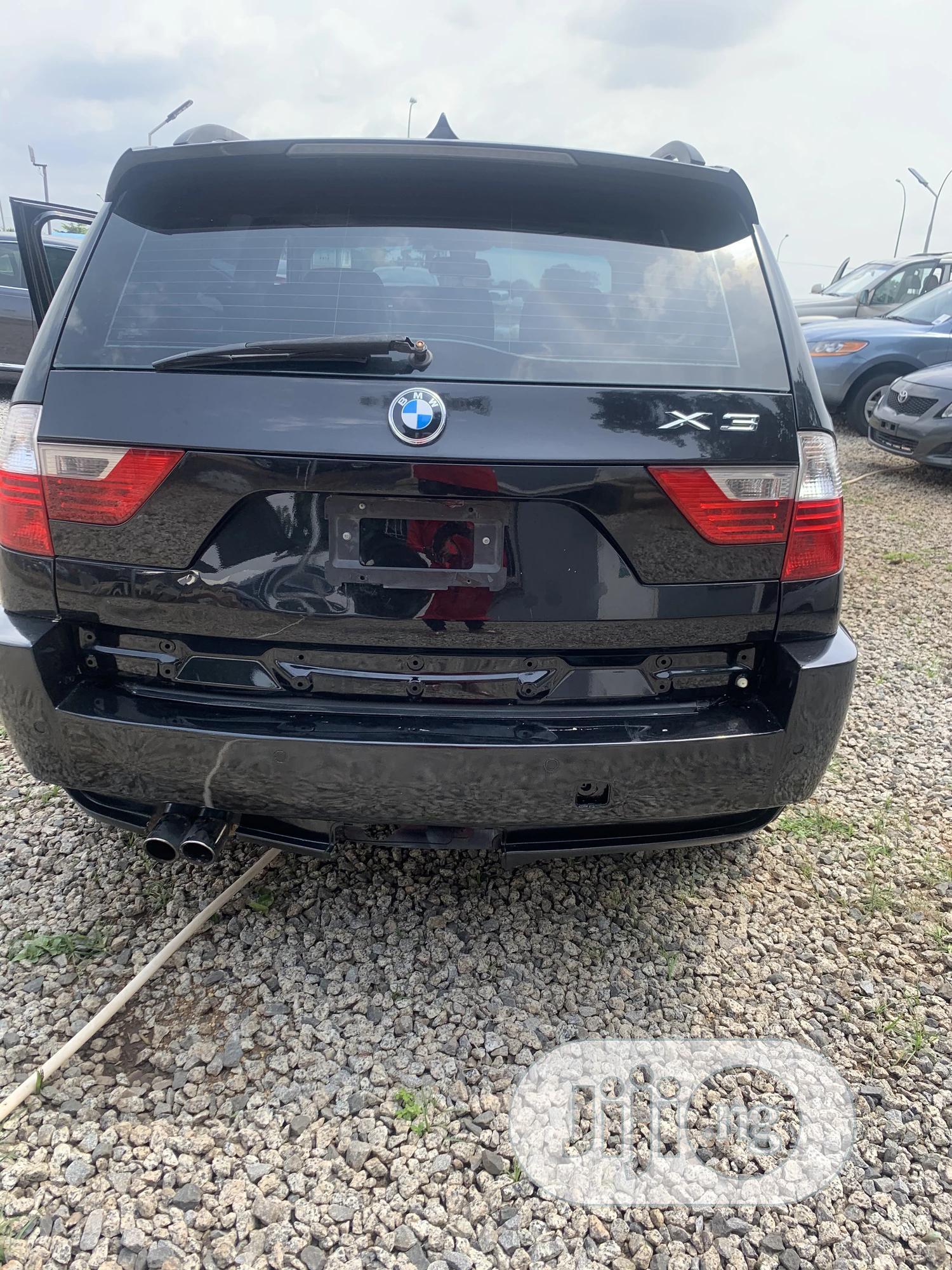 Archive: BMW X3 2008 3.0si Automatic Black
