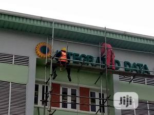 NNPC Signage Letters Lighted Led Sign Zeepad | Manufacturing Services for sale in Abuja (FCT) State, Central Business District