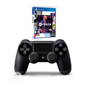 Ps4 Dualshock 4 Wireless Controller + Fifa 21 | Accessories & Supplies for Electronics for sale in Lagos State, Ikeja