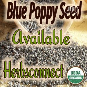 Organic Blue Poppy Seed - 100g | Vitamins & Supplements for sale in Lagos State, Amuwo-Odofin