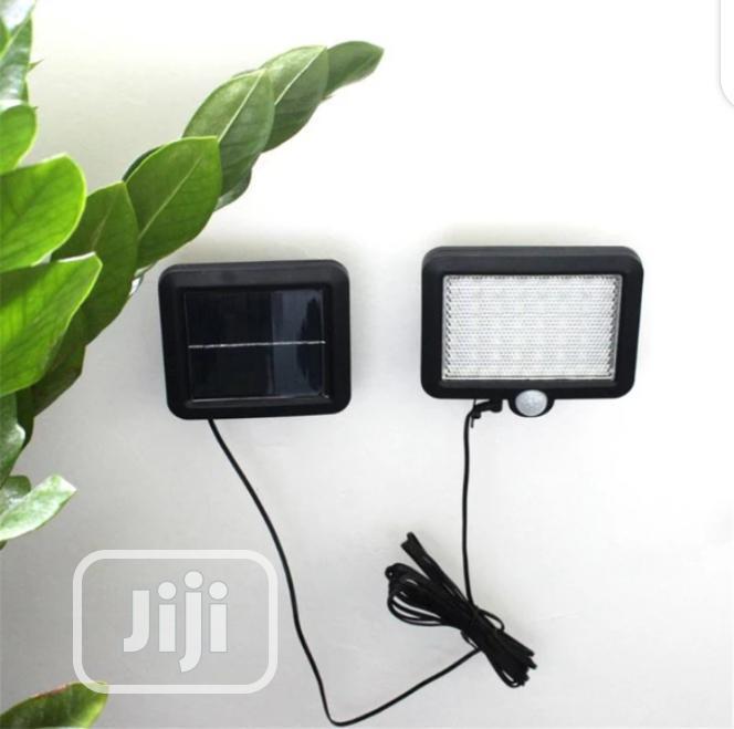 56 LED Solar Light Waterproof PIR Motion Sensor Wall Lamp
